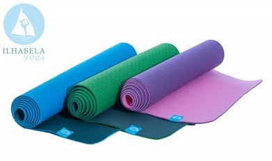 b36c15f6e Tapete De Yoga Ecologico Tpe Ilhabela Yoga 5mm - Yoga Mat - R  210 ...