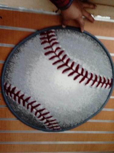 tapete decorativo beisbol 57x57