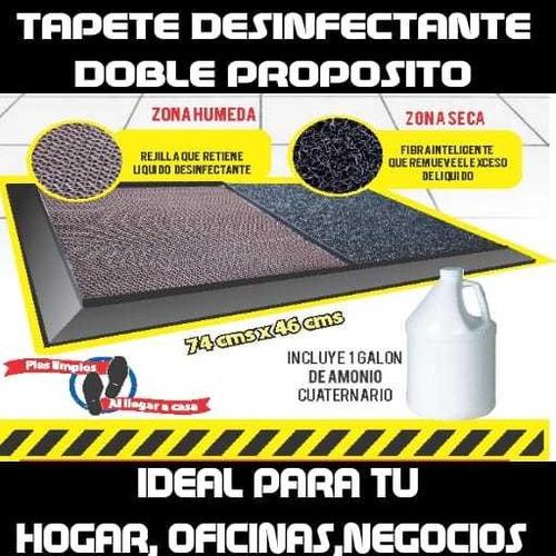tapete desinfectante