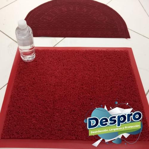 tapete desinfectante en 100% pvc
