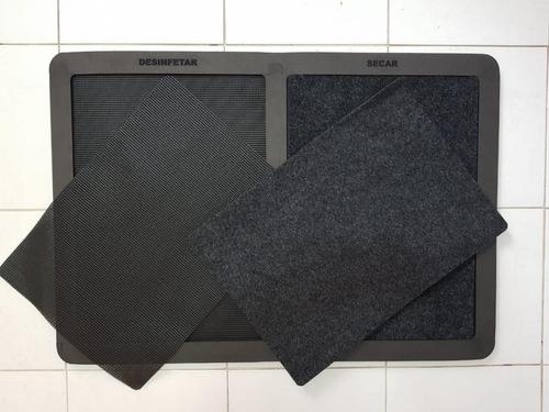 tapete desinfetante higienizador antivírus dual pro m