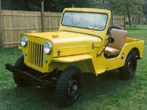 tapete dianteiro jeep willys cj2 e cj3 1946  a 1954
