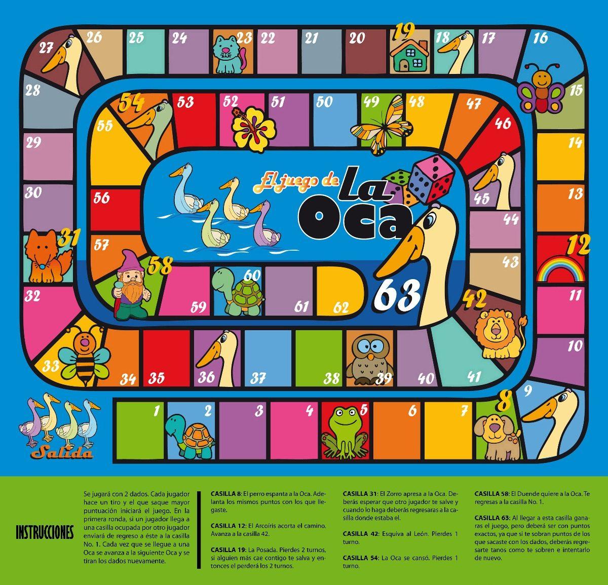 Tapete did ctico interactivo juego de la oca jugueteclick en mercado libre - Juego de la oca ...