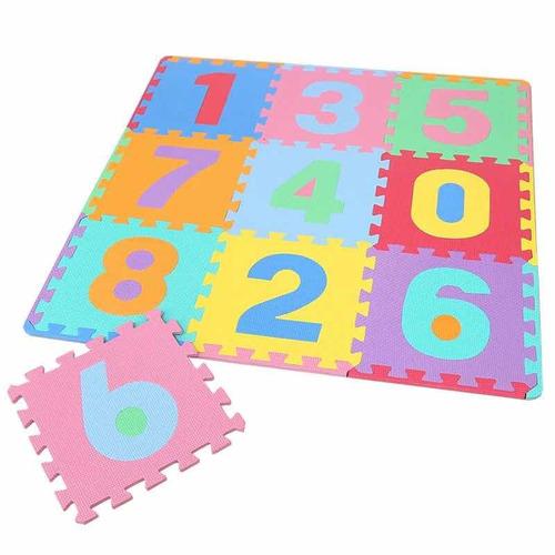 tapete didáctico para niños 100 piezas