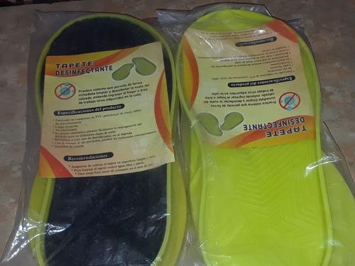 tapete ecologico para desinfectar calzado