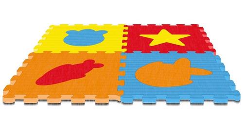 tapete eva colorido play brink 4 peças 8mm