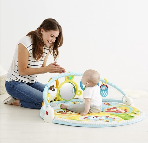 tapete  explore baby actividad gimnasio