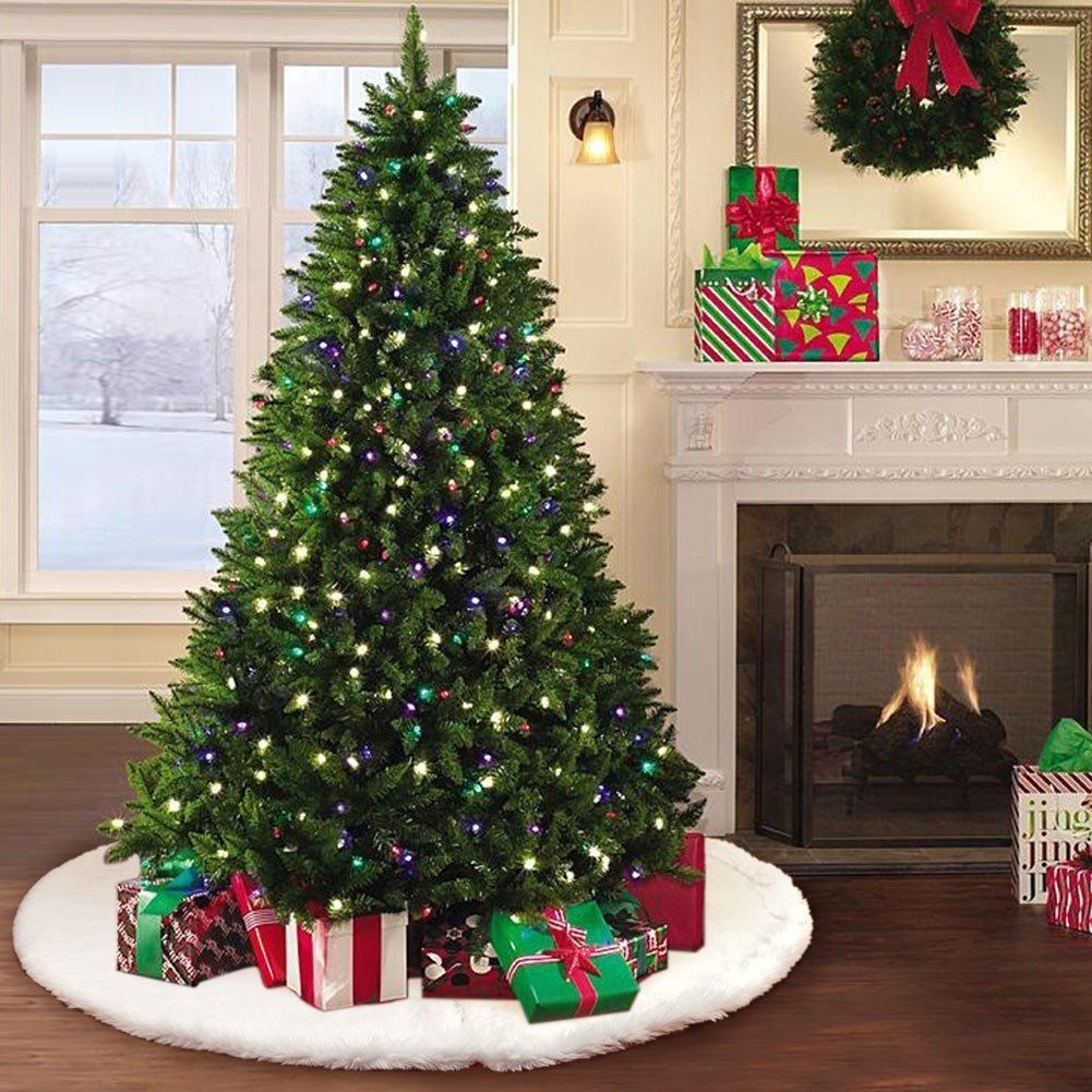 Tapete falda de rbol navidad 48pulg elegante decorar for Articulos de decoracion para navidad