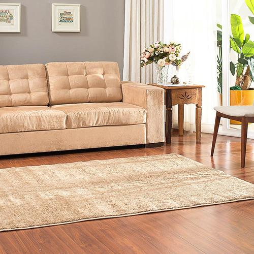 tapete felpudo apolo soft class casa dona bege 150x200cm