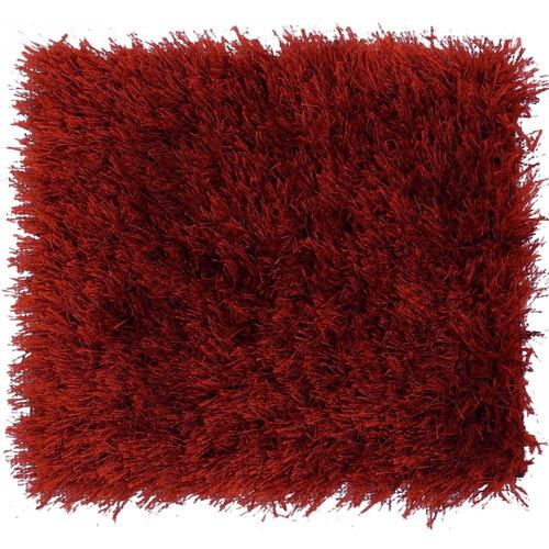 tapete felpudo peludo de sala 2,00 x 1,50 belmont vermelho