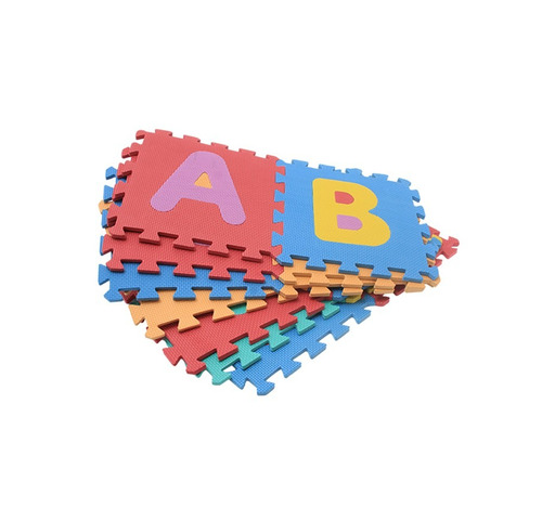 tapete foami fomi 10 fichas medianas juguetes alfombra niños