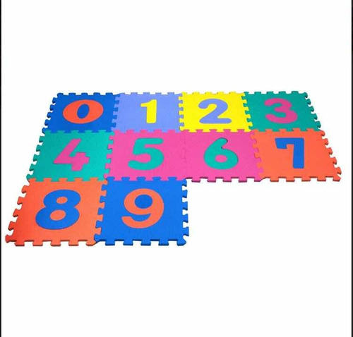 tapete foamy fomi didáctico para niños 10 piezas