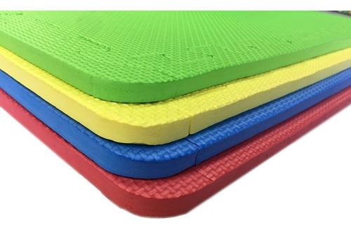tapete fomi foami 60x60 16 piezas grueso area de juegos
