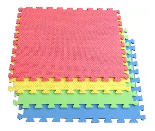 tapete fomi fomy foamy tableta extragrande 4 fichas 60 cm
