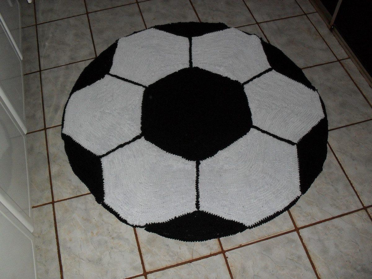 Tapete Fru Fru Desenho Bola R 130 00 Em Mercado Livre -> Tapetes Desenhos