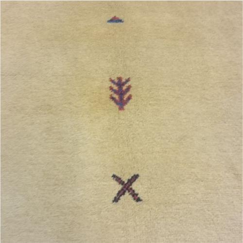 tapete gabeh persa 252x242cm artesanal legitimo certificado