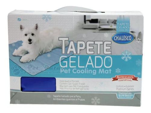 tapete gelado refrescante para cães 64x50 cm