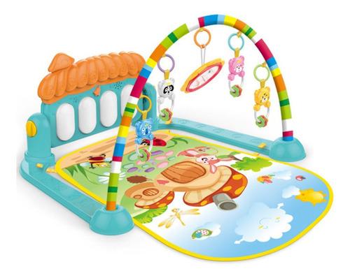 tapete ginásio piano musical atividade bebê villa verde