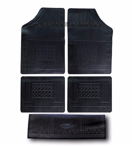 tapete gm cobalt 2005 com tunel 5 pcs preto borracha