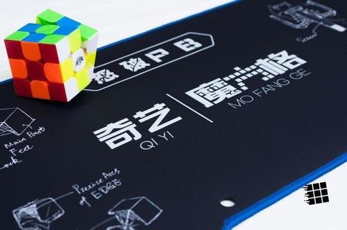 tapete grande qiyi para cubo mágico mat preto pronta entrega