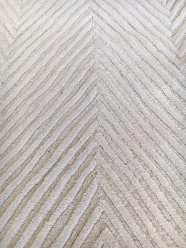 Elegant Tapete Handmade Chevron Nepal Modern 185x150cm Contemporany