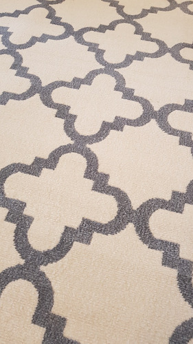 tapete herat redondo 1.5 são carlos geometrico classico 8791