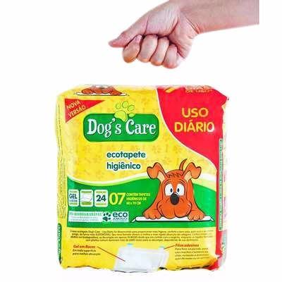 tapete higiênico descartavel para cães 21 unidades/60x80cm