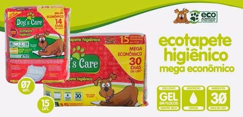 tapete higiênico dog's care mega econômico / 30 unidades