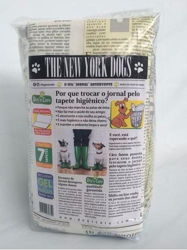 tapete higiênico para caes 60x80/the new york dogs/30unidads