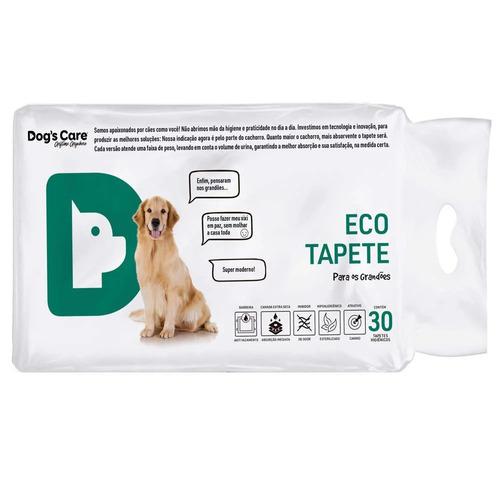 tapete higiênico para cães 80x60 - porte grande/30unidades