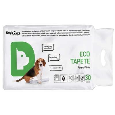tapete higiênico para cães 80x60 - porte medio/30 unidades