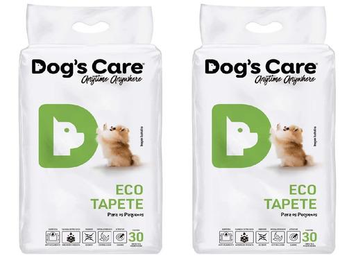 tapete higiênico para cães 80x60 - porte pequeno/60 unidades