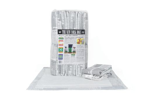 tapete higiênico para cães borda absorvente 80x60 c/70u