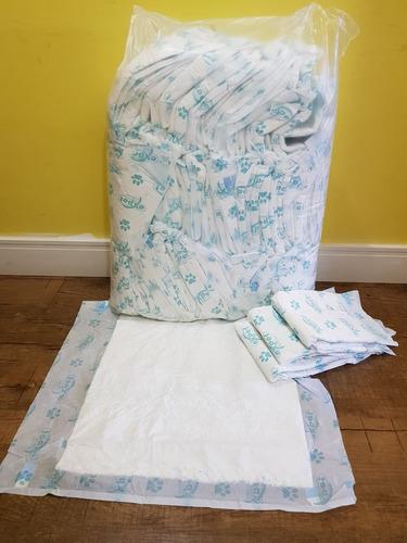 tapete higiênico para cães c/ 140 unidades - 90x60cm e