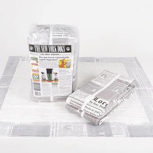 tapete higiênico para cães c/70 unidades - 80x60cm/1ªlinhaj
