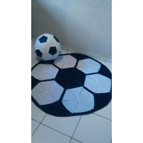 3d8cafbe5 Tapete De Bola De Futebol Em Croche no Mercado Livre Brasil
