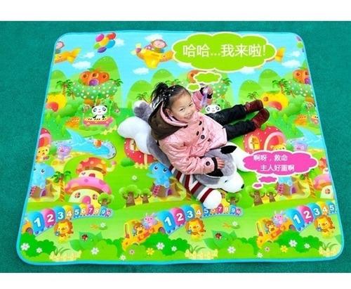 tapete infantil bebe portatil dobravel + bolsa para transpor