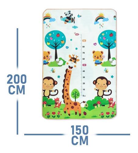 tapete infantil educativo atividades duplo metro 180x120 cm