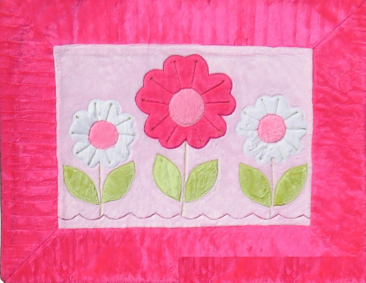f21020fd9 tapete infantil jardim 3 flores pink pelúcia antialérgico. Carregando zoom.