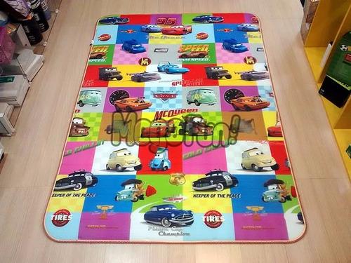 tapete infantil mickey carros meninos quarto sala