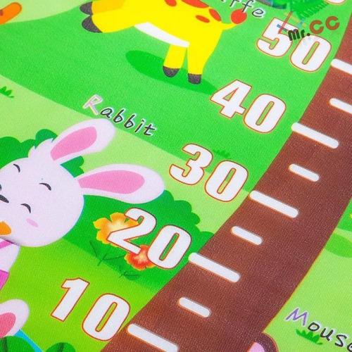 tapete infantil tatame de protecao de atividades para bebe portátil dobrável térmico 100*180
