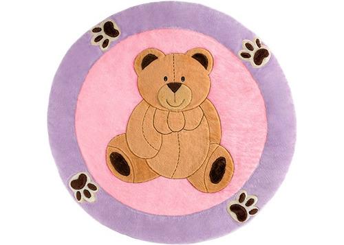 tapete infantil urso com patinhas