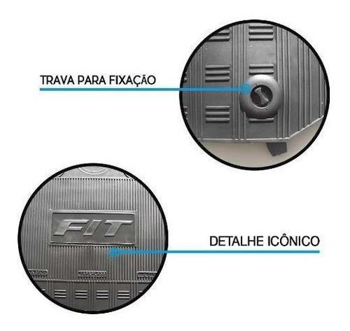 tapete interno honda fit 2009 2010 2011 2012 2013 2014
