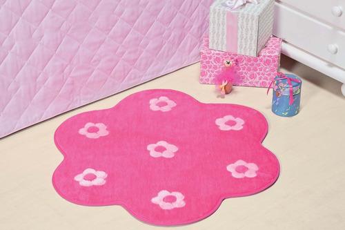 tapete jardim florido quarto menina decoração infantil