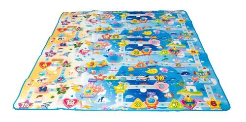 tapete juguete juego calle aviones barcos mar playa niños be