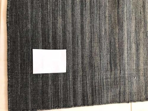 tapete kilin azul sahara indiano 235x162cm artesanal