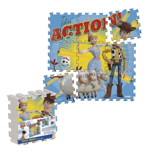 tapete magico toy story 4