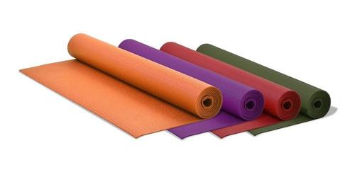 tapete mat yoga 3 mm cinta transporte