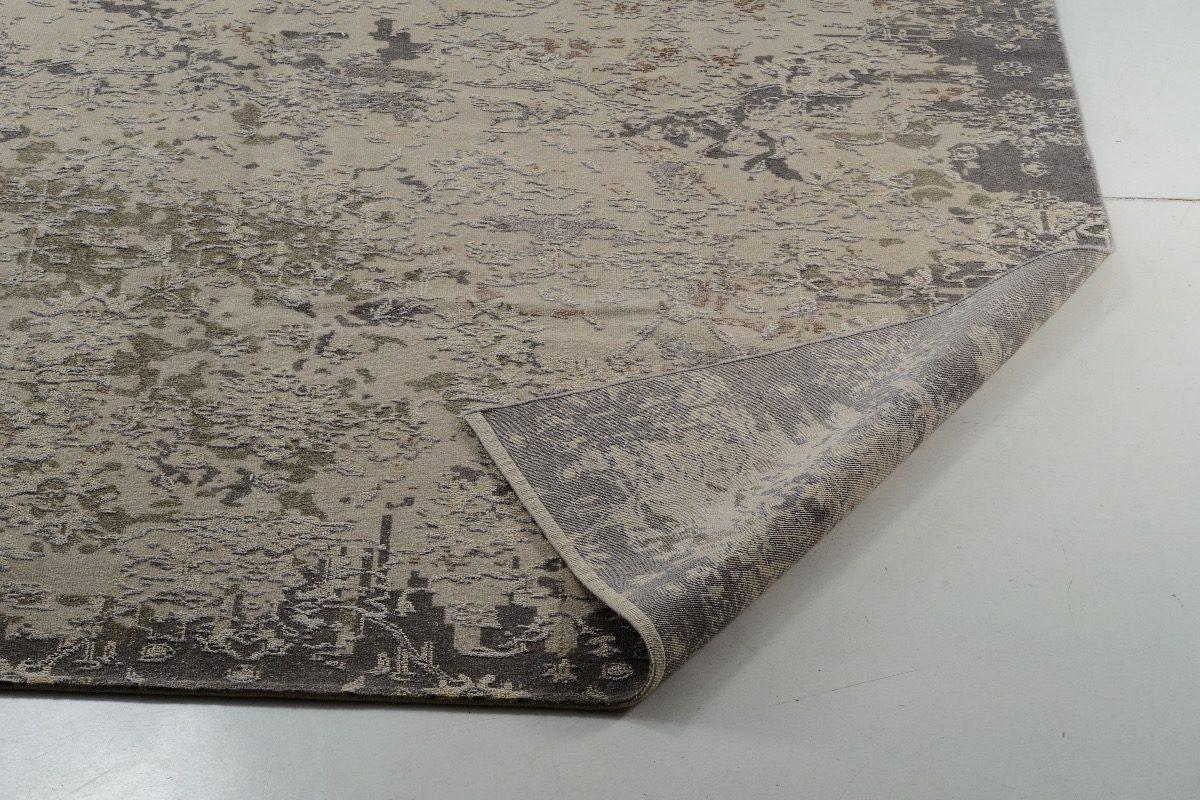 Tapete Modern Indiano 3x2.5m Handmade Erased Desconstruido