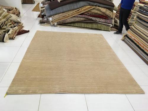 tapete nepales artesanal legitimo 247x201cm 2,5x2m 2x2,5m